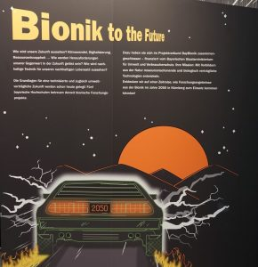 Bionik to the future, Eingangswand
